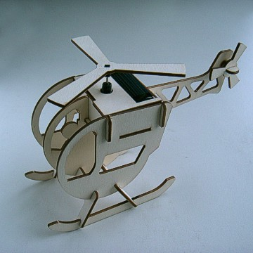 Plywood Solar Helicopter (DIY)