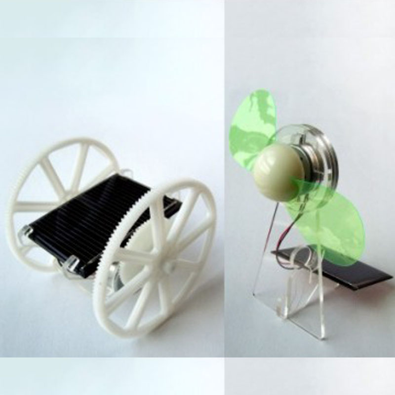 3 in 1 Solar Car & Solar Fan Set(DIY)